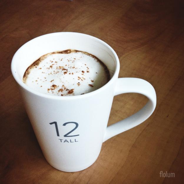 FLO LUM » Eggnog Latte