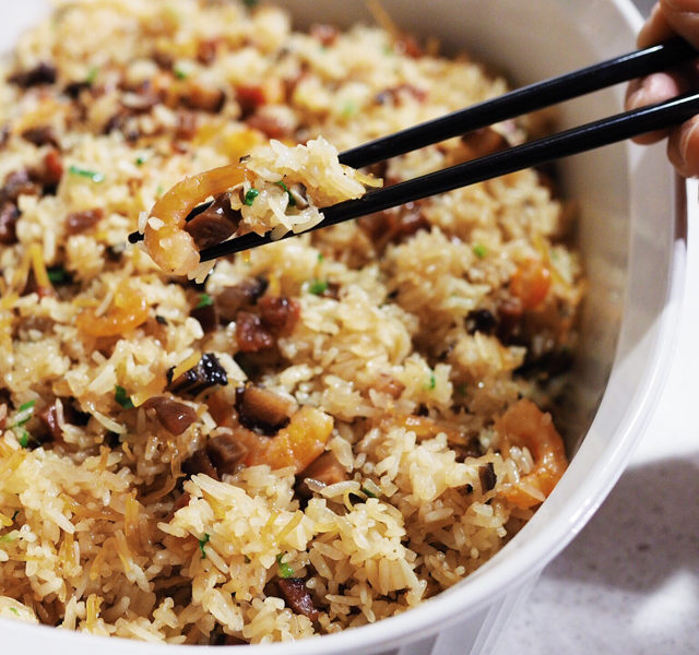 stir-fried sticky rice