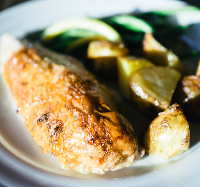 Perfect Roast Chicken and Potatoes